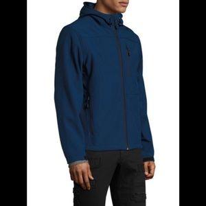 Tahari Men's Soft Shell Tech Hoodie Size M NWT